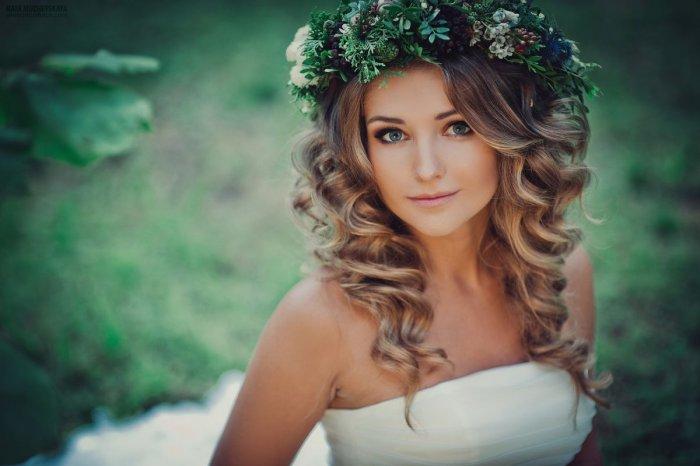 Макияж для невесты в стиле рустик