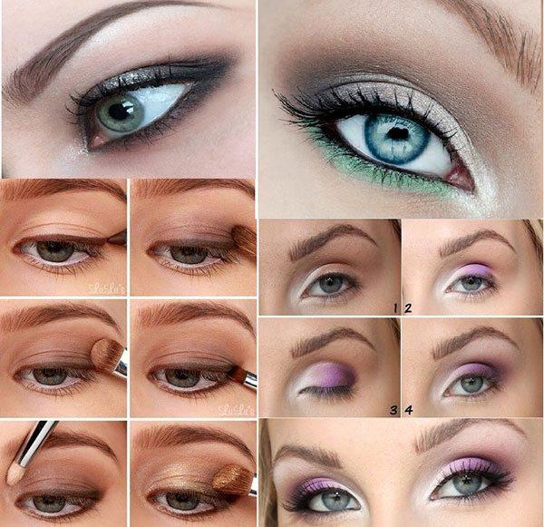 Красивый макияж для дня