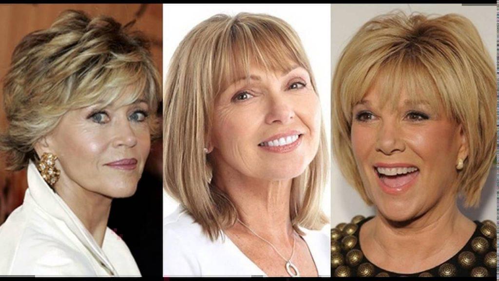Возрастной макияж для блондинок