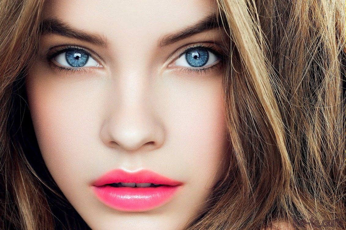 Макияж для девушки с голубыми глазами