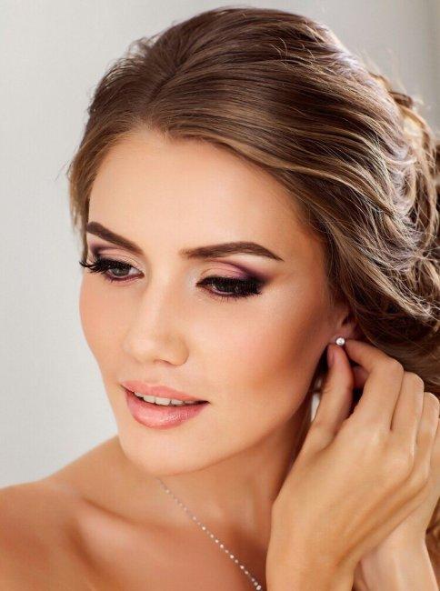 Контуринг в свадебном макияже