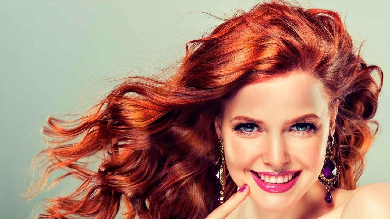 Правильный макияж для рыжеволосой леди