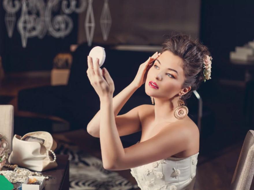 Модный макияж невесты