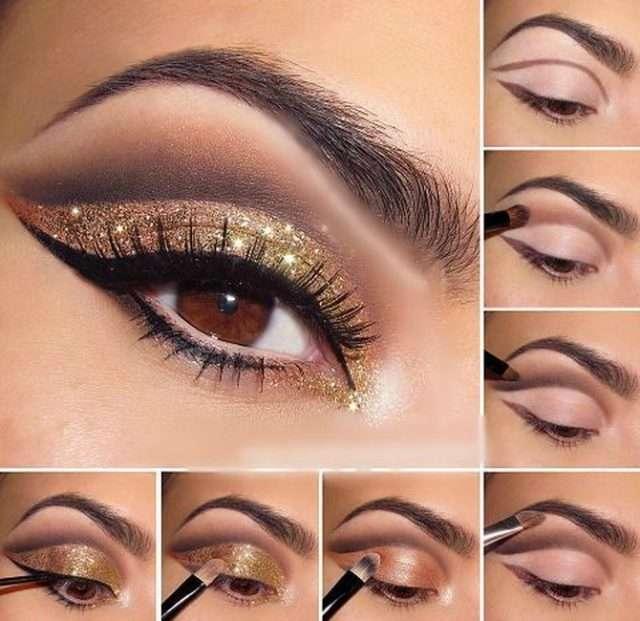 Техника нанесения макияжа для карих глаз на выпускной
