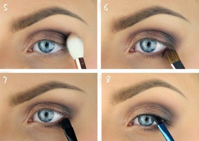 Техника нанесения макияжа