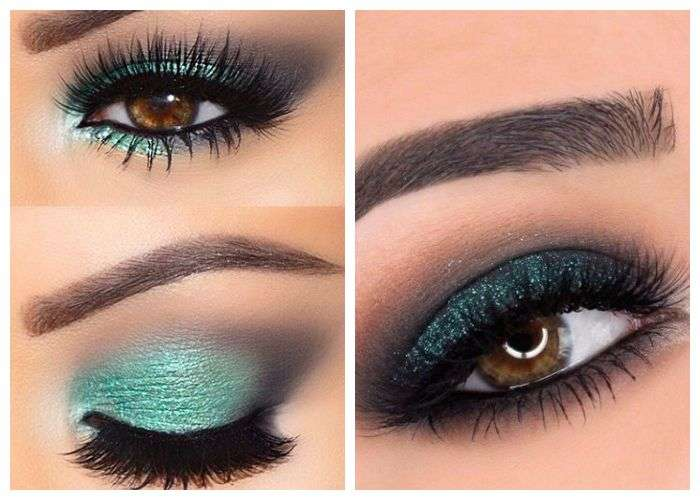 Цвет глаз и правильно подобранные тени