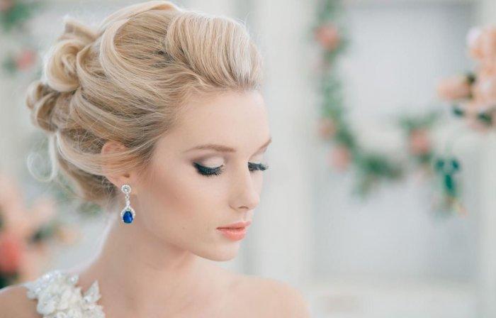 Манящий макияж для свадьбы