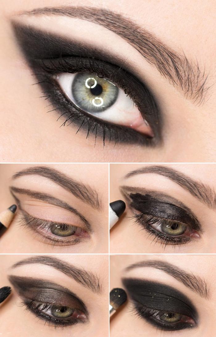 Наносим правильно макияж для зеленых глаз