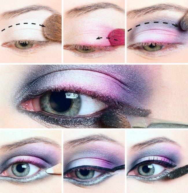 Правильное наненсение макияжа