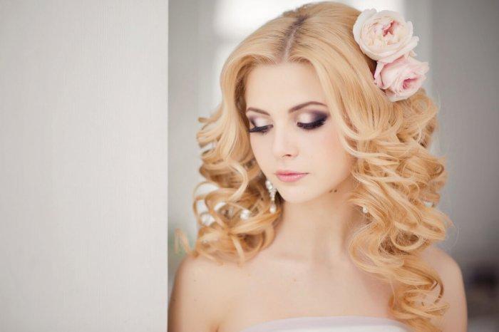 Макияж для невесты с акцентом на глазах