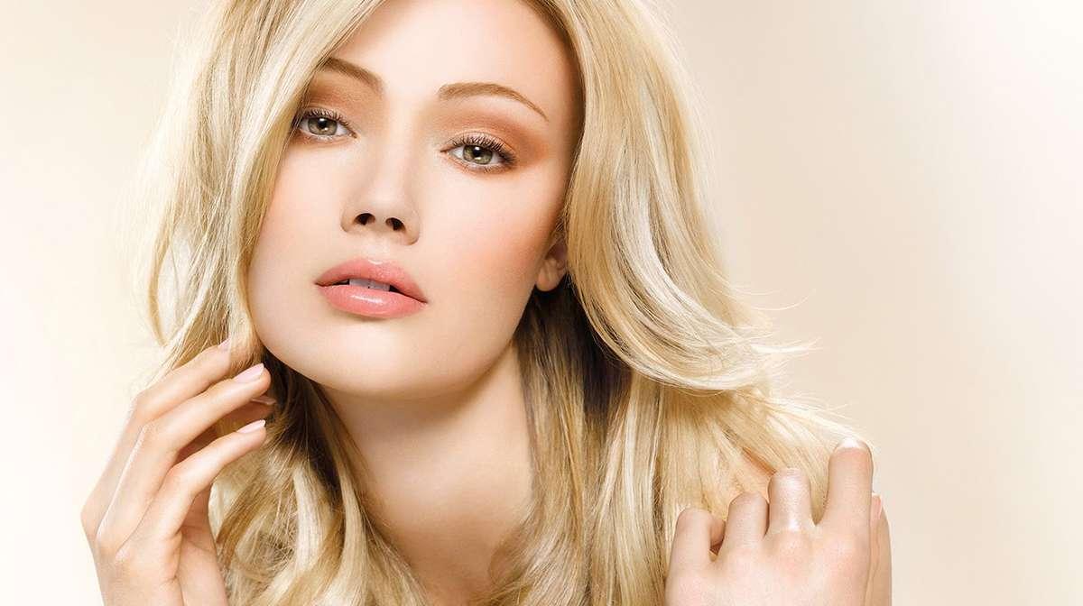 Виды макияжа для девушек с русыми волосами