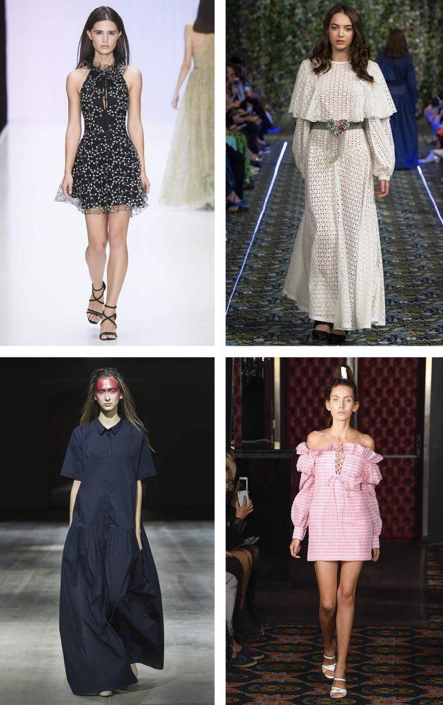 b16fceef5ad Модные платья в романтическом стиле
