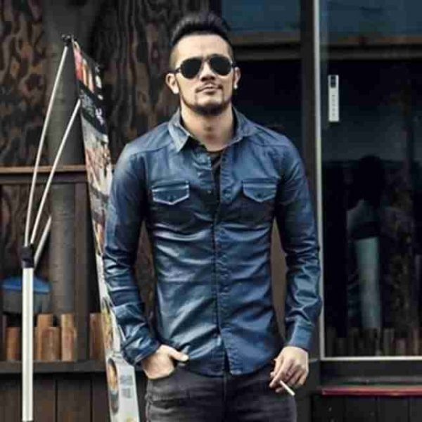 Модные мужские кожаные рубашки весна-лето 2019