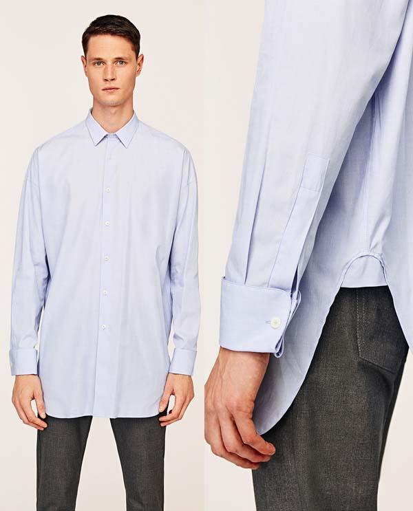 Модные удлиненные мужские рубашки весна-лето 2019