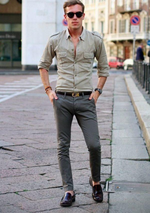 Модные мужские рубашки с коротким рукавом весна-лето 2019