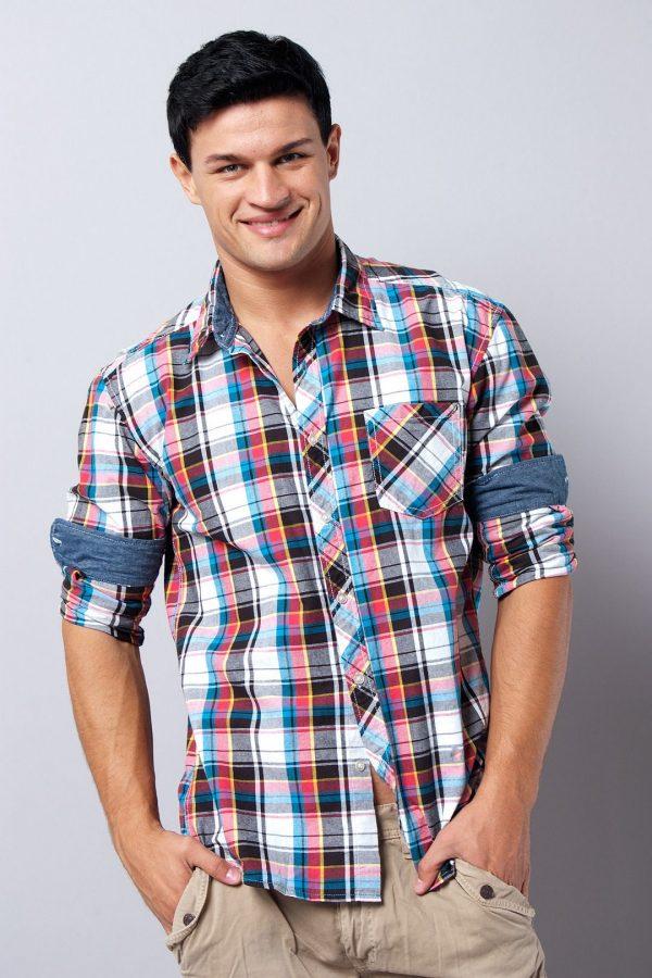 Модные мужские рубашки в клетку весна-лето 2019
